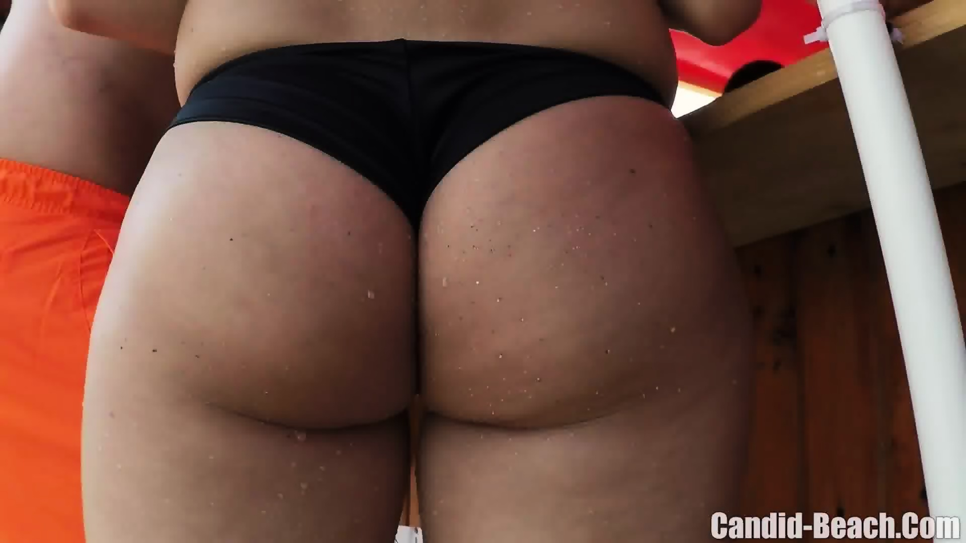 thong on porn
