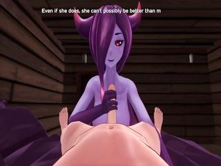 Monster Girl Island Demo - Eris The Demon Slime Scene... | xxx-video