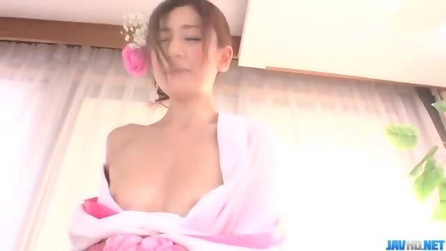 Quality Japanese porn with naked, Kaori Maeda