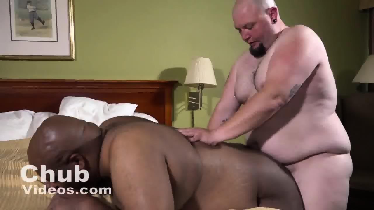 Tit mature a chubby bear couple