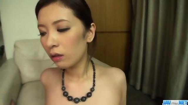 Yui kasuga premium asian porn in threesome mode very grateful
