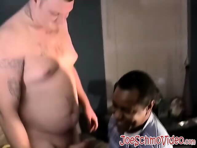 Horny Black Dude Yearns For A Giant White Cock To Swallow Scene 2