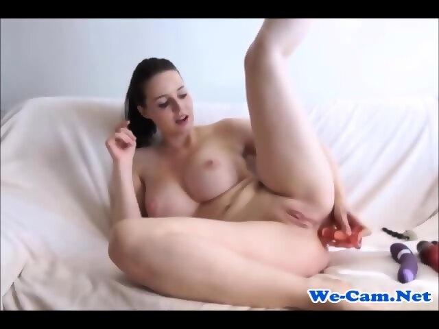 Latina Anal Masturbation Solo