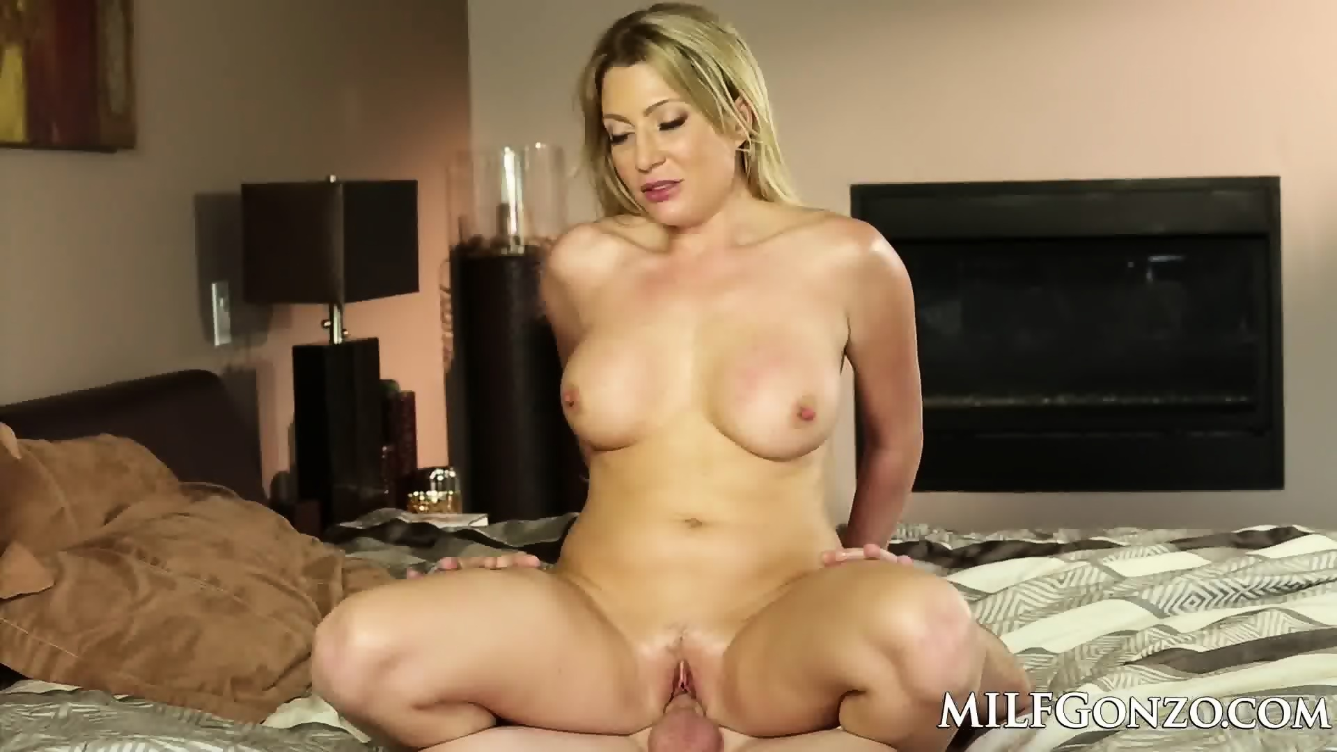 Milfgonzo hot blonde jennifer best fucking her step son 4