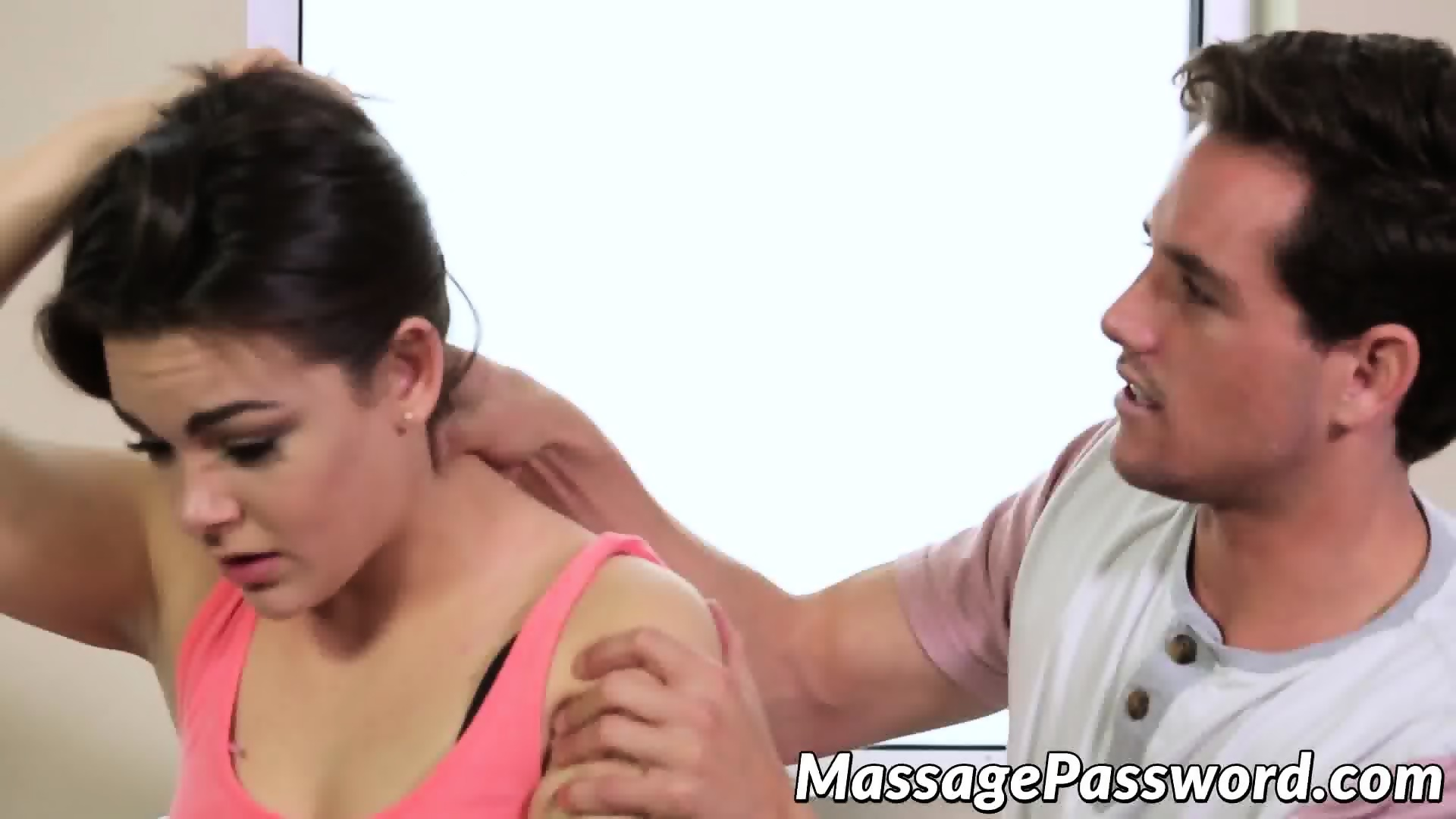 Hot massage turns to sex