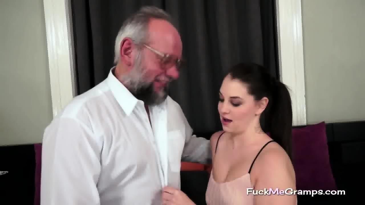With weird grandpa fucks granddaughter