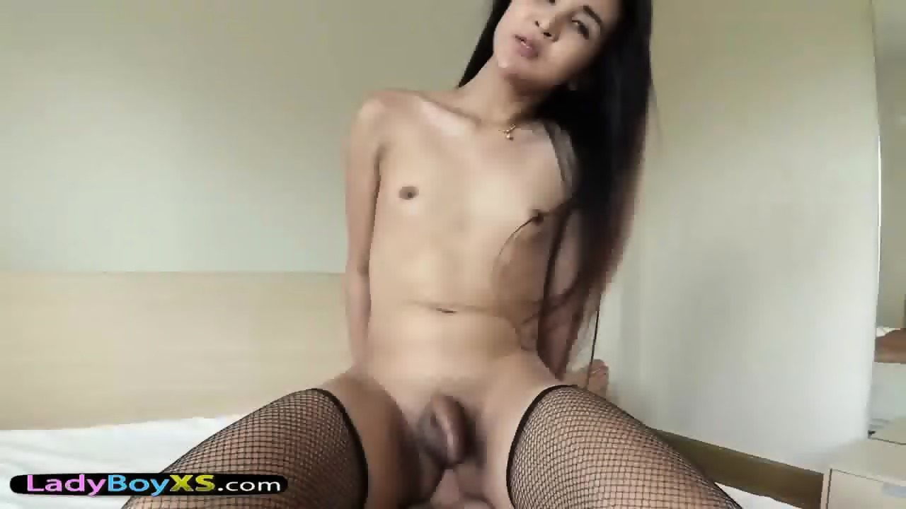 Asian ladyboy pov