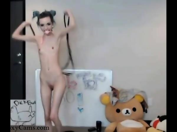 Skinny Teen Girl Orgasm