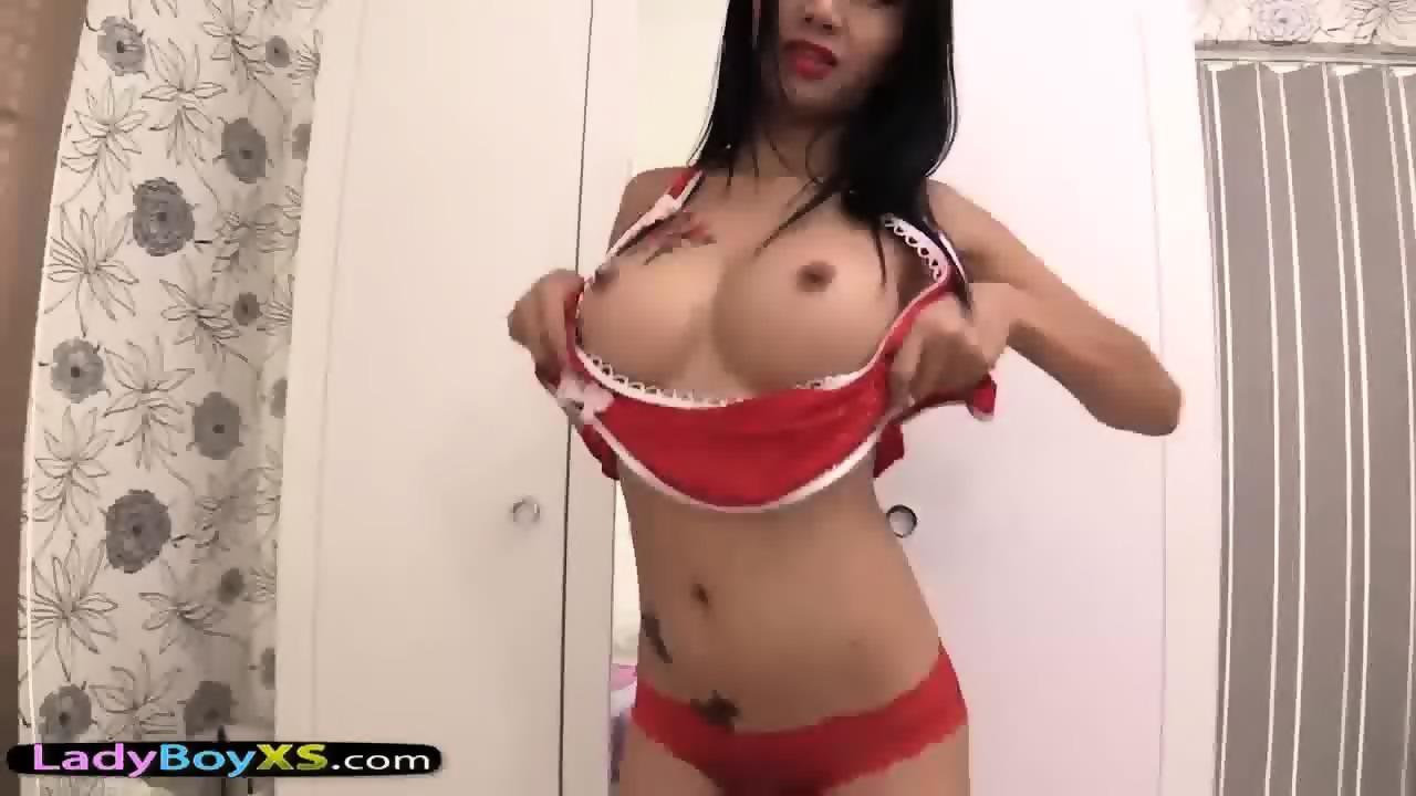 Pov asian fake tits