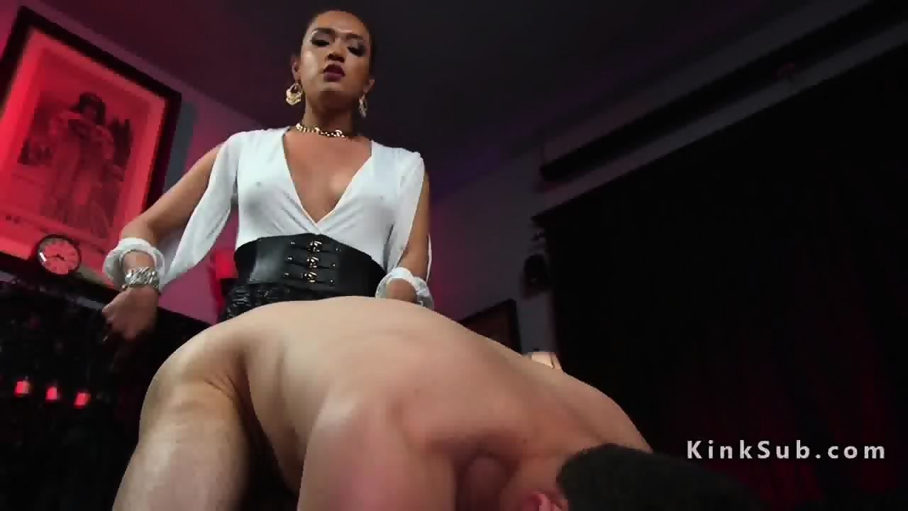 Shemales whipping slaves