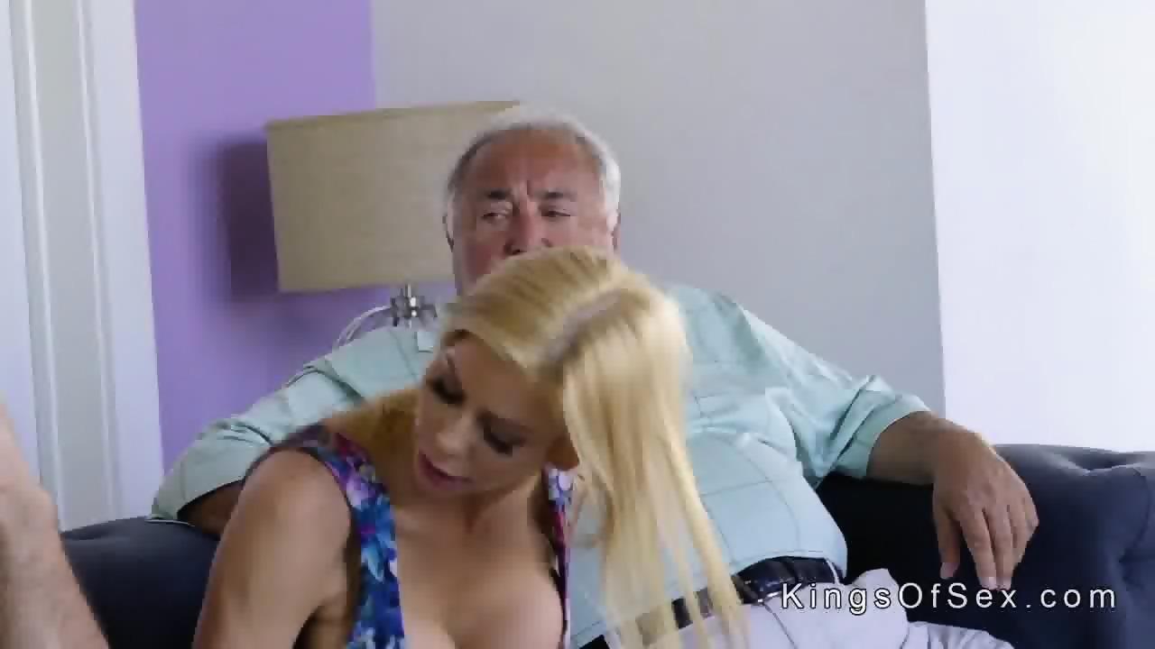 Huge Tits Stepmom Helps Guy With Boner Scene 2