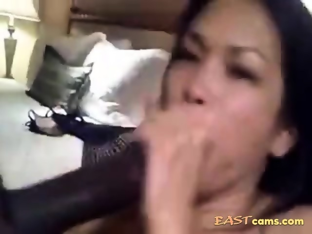 Milf getting crazy with his cock