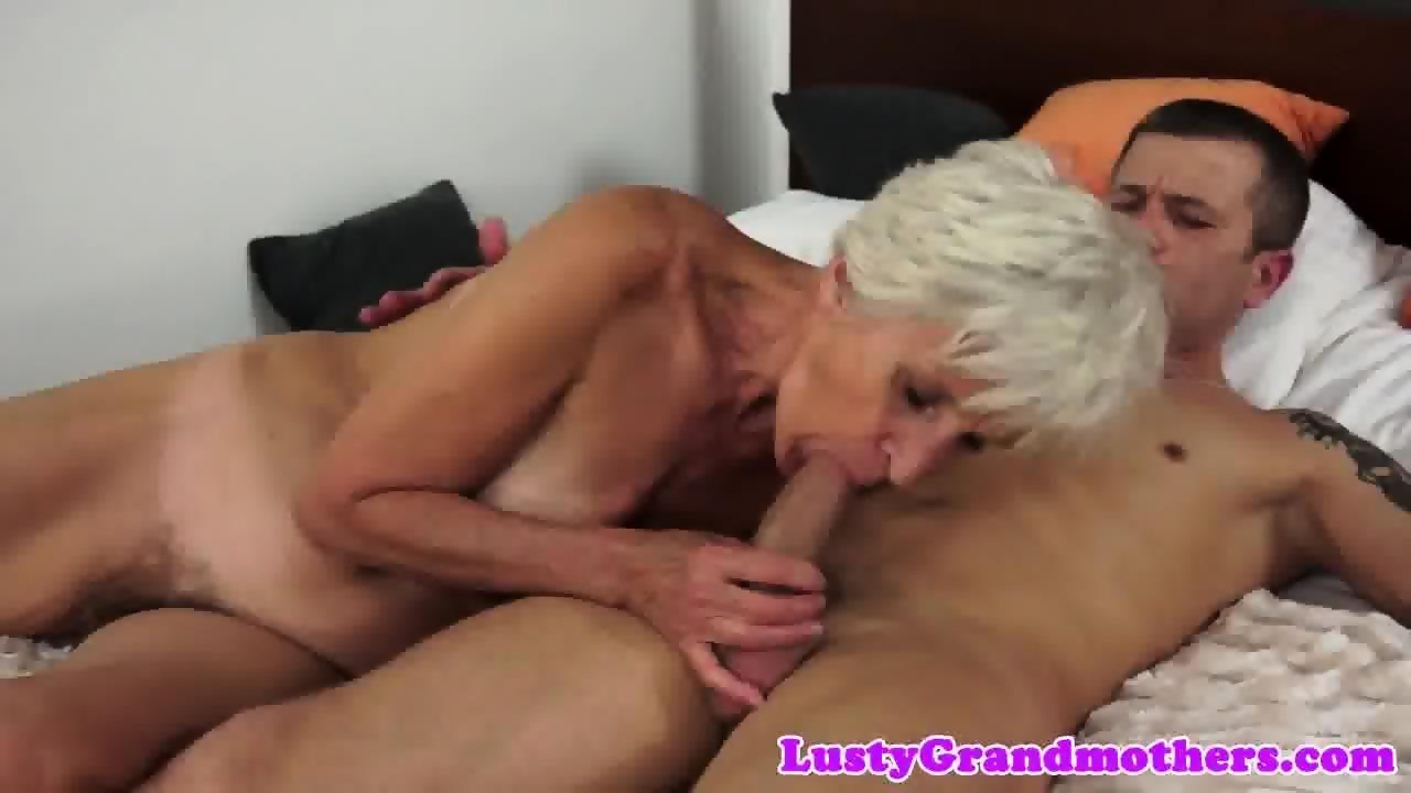 Mom deep throated my big cock