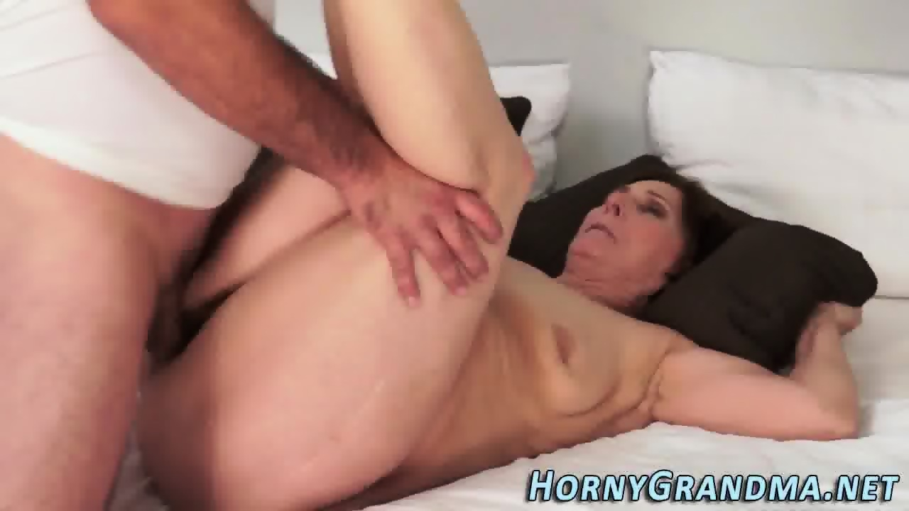 Tranny gets pounded