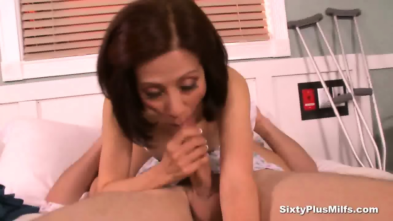 Asian milf nurse