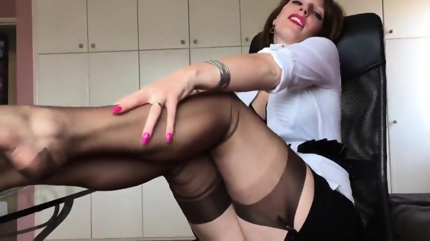 free shiny pantyhose