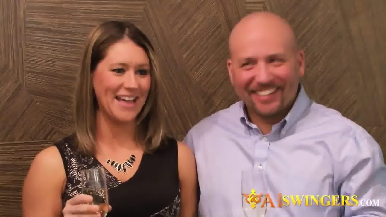 Amazing real couples swap partners - scene 11