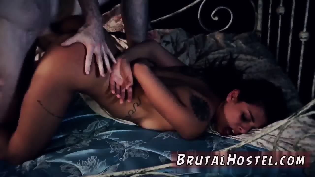 Rough Anal Latina Bondage