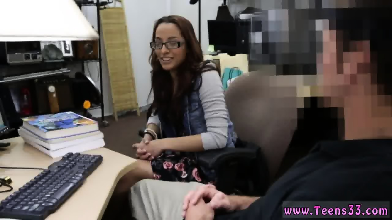 big tits hairy pussy hd college student banged in my pawn shop