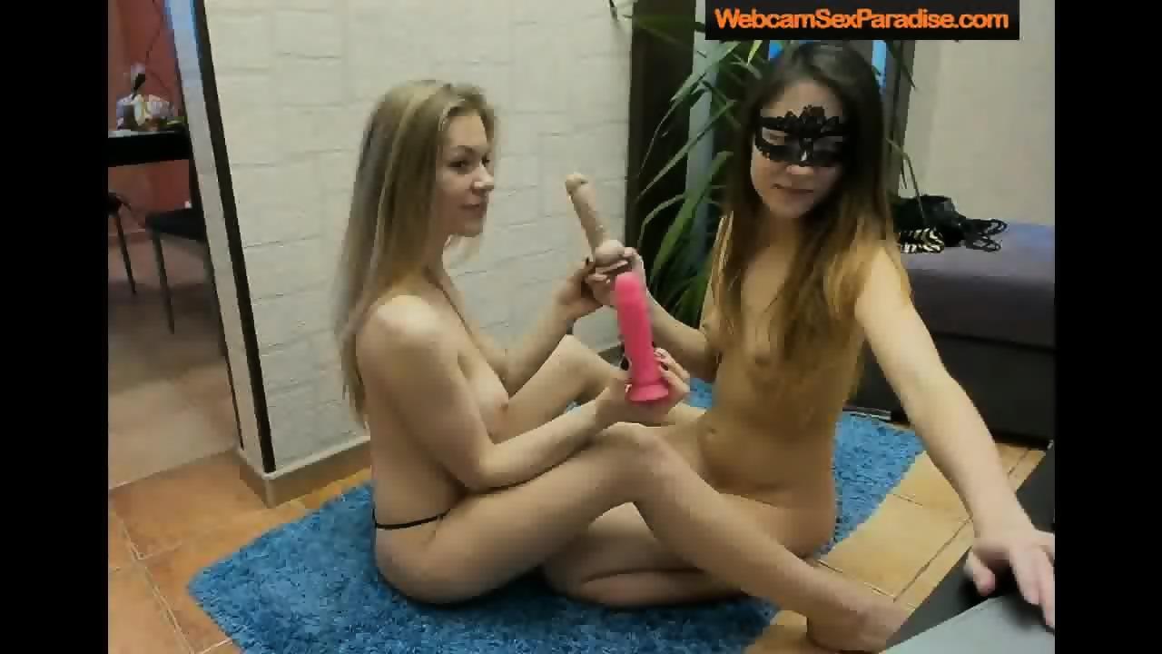 Eating pussy licking panty black blonde