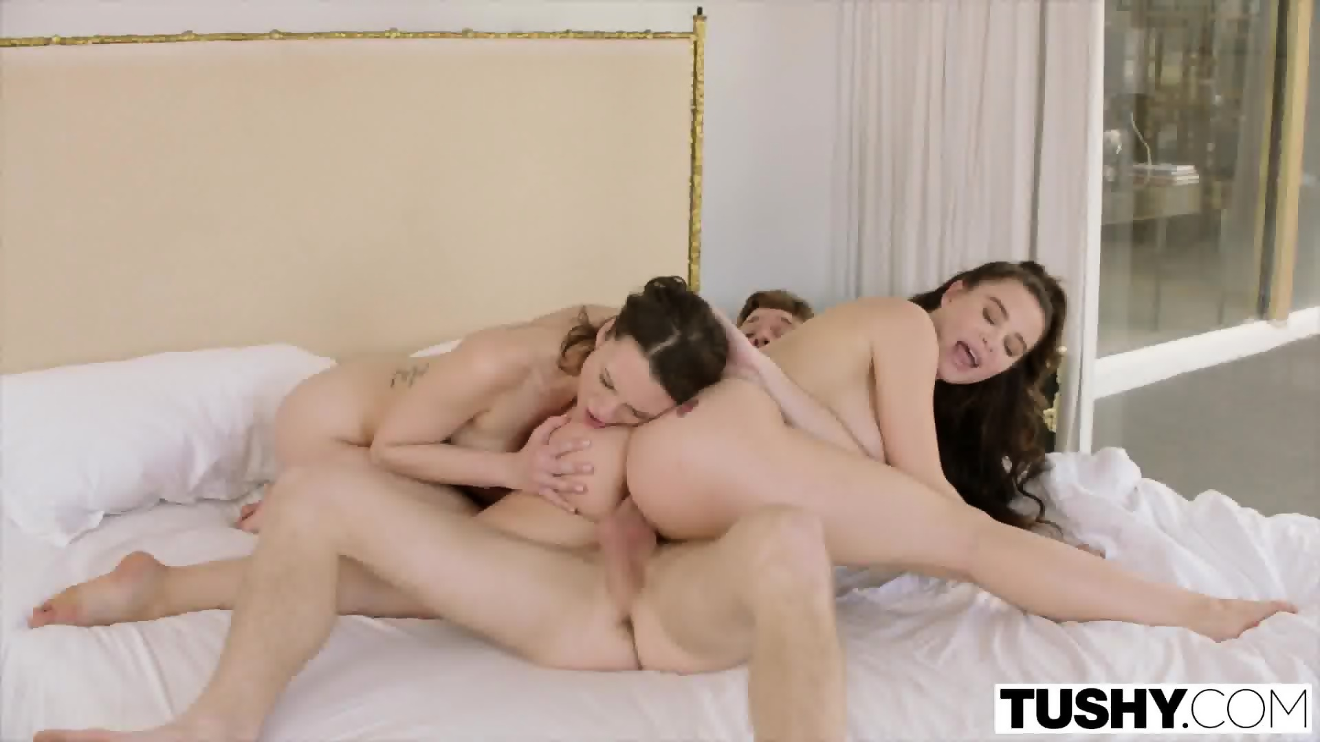 For Married couple has threesome