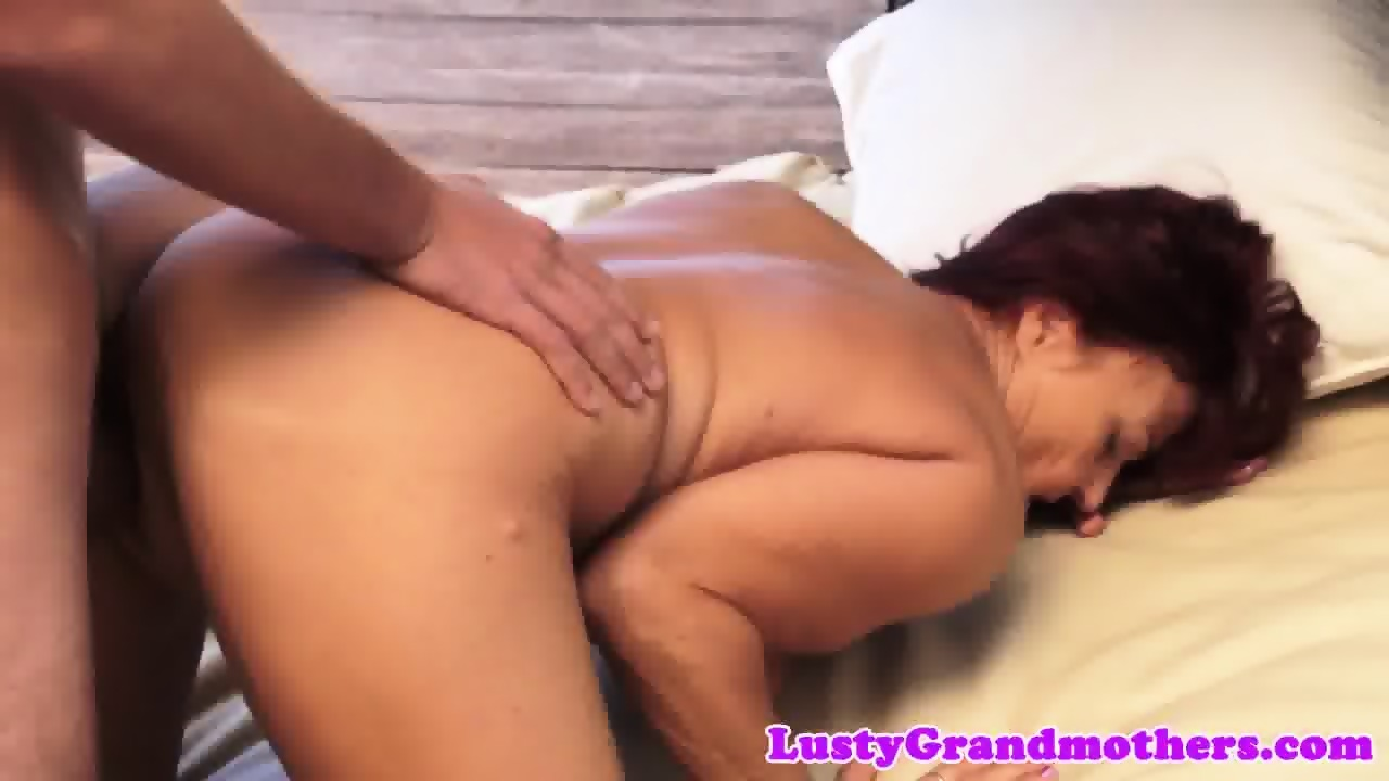 Busty mature friday rides cock