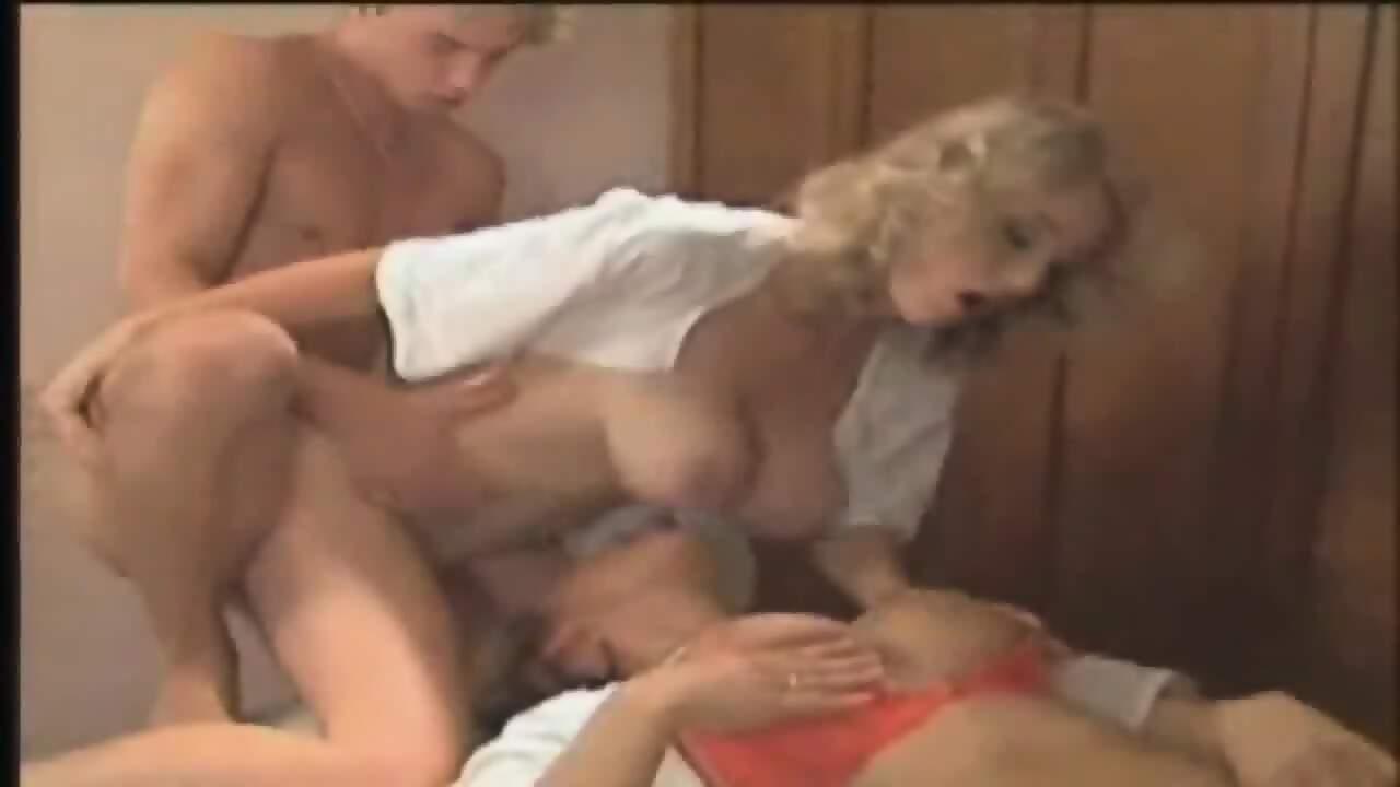 Blonde Cougar Big Natural Tits