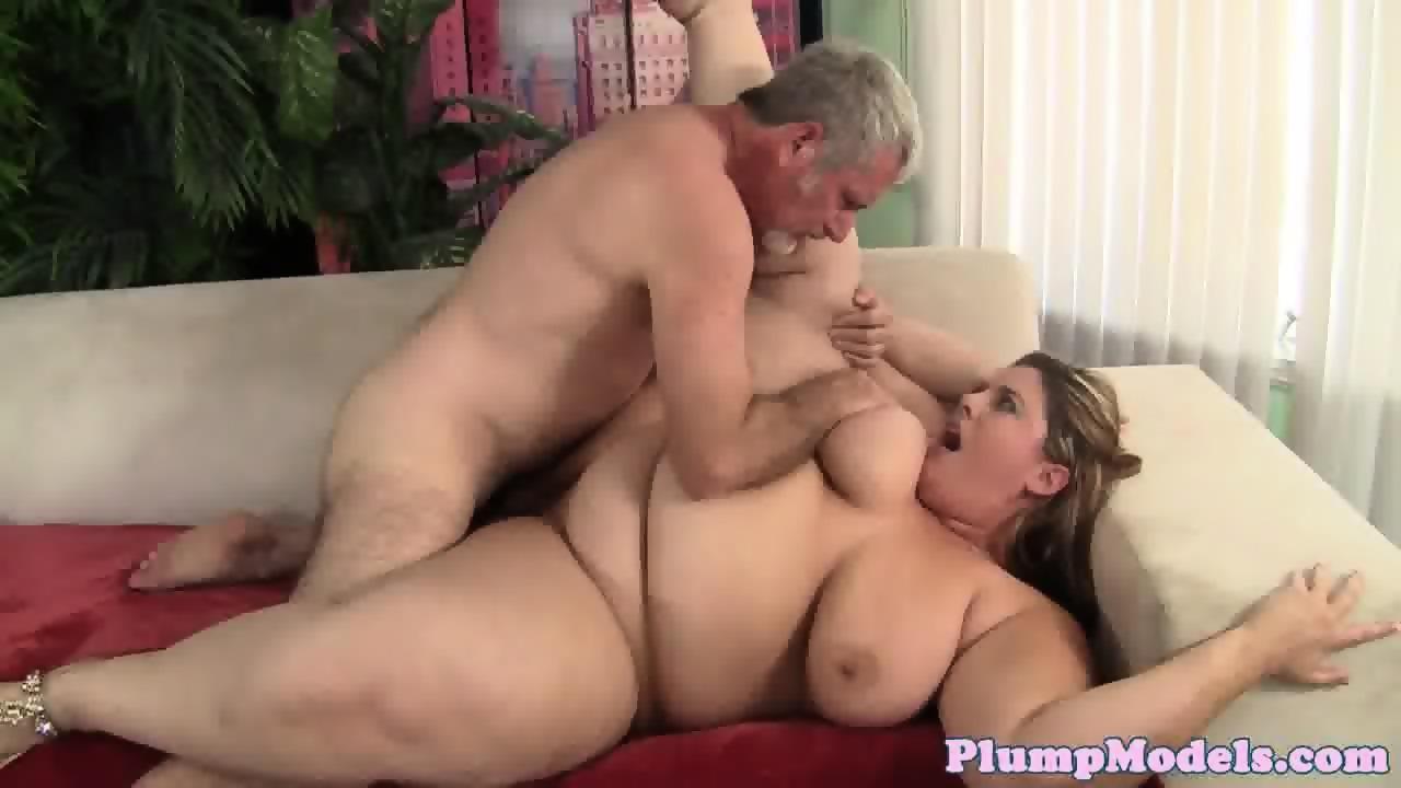 Beautiful ssbbw tittyfucked by hard cock