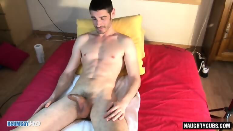 Gay massage ends up in a rimjob