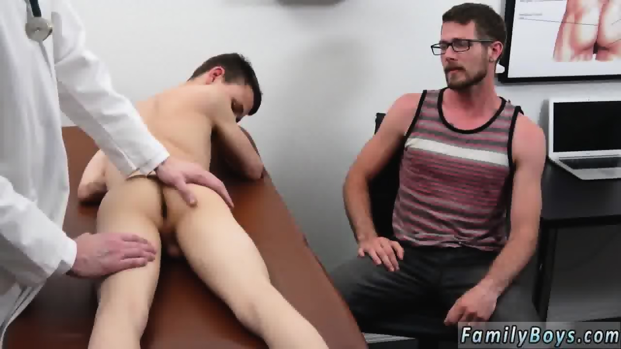 cute guy gets fucked by doctor