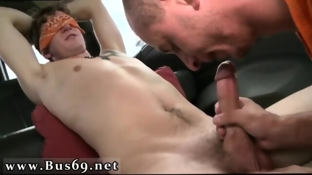 Men giving themselves blowjobs