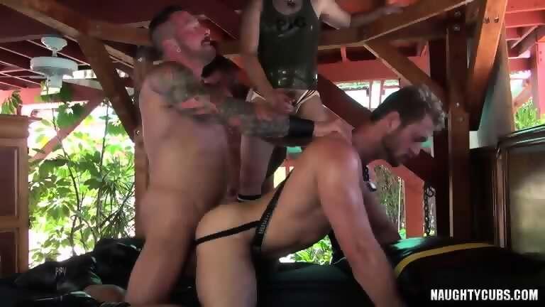 tattoo jock piss and cumshot