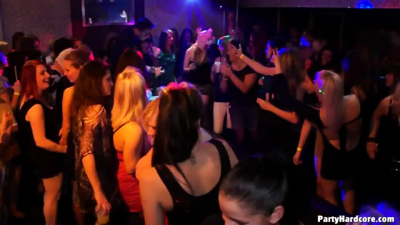 People enjoying drunken group sex