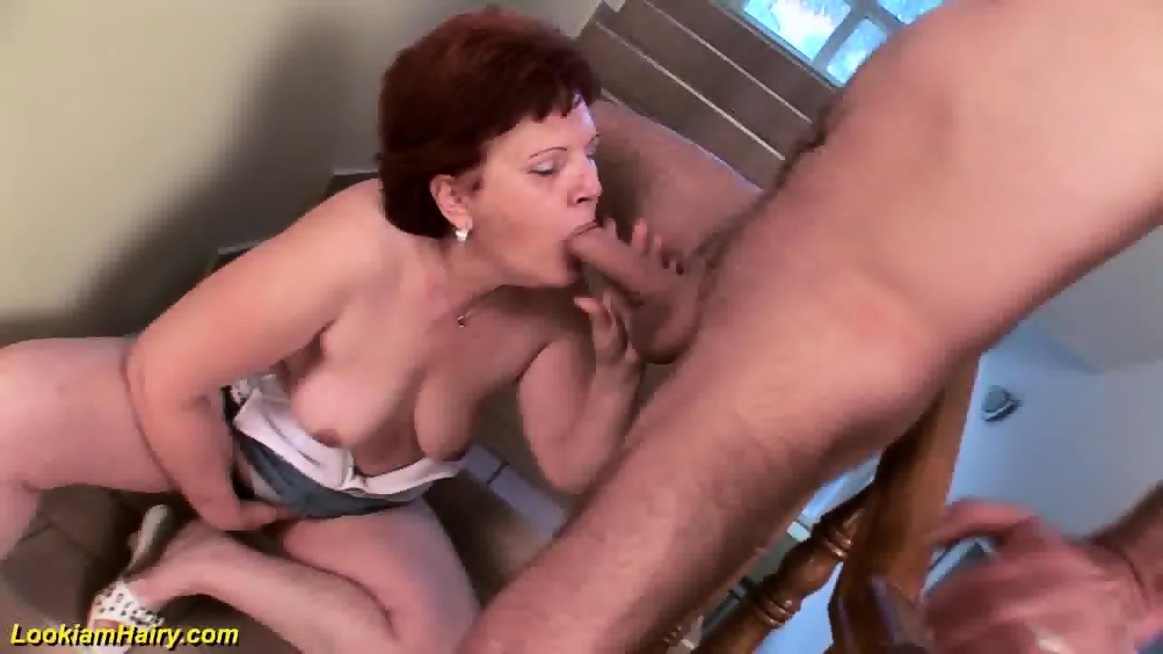 Hairy german mature gets deep fucked