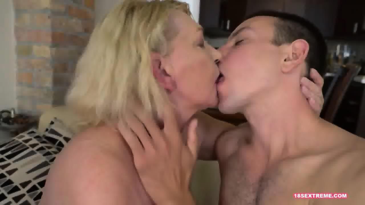Facialized mature slut