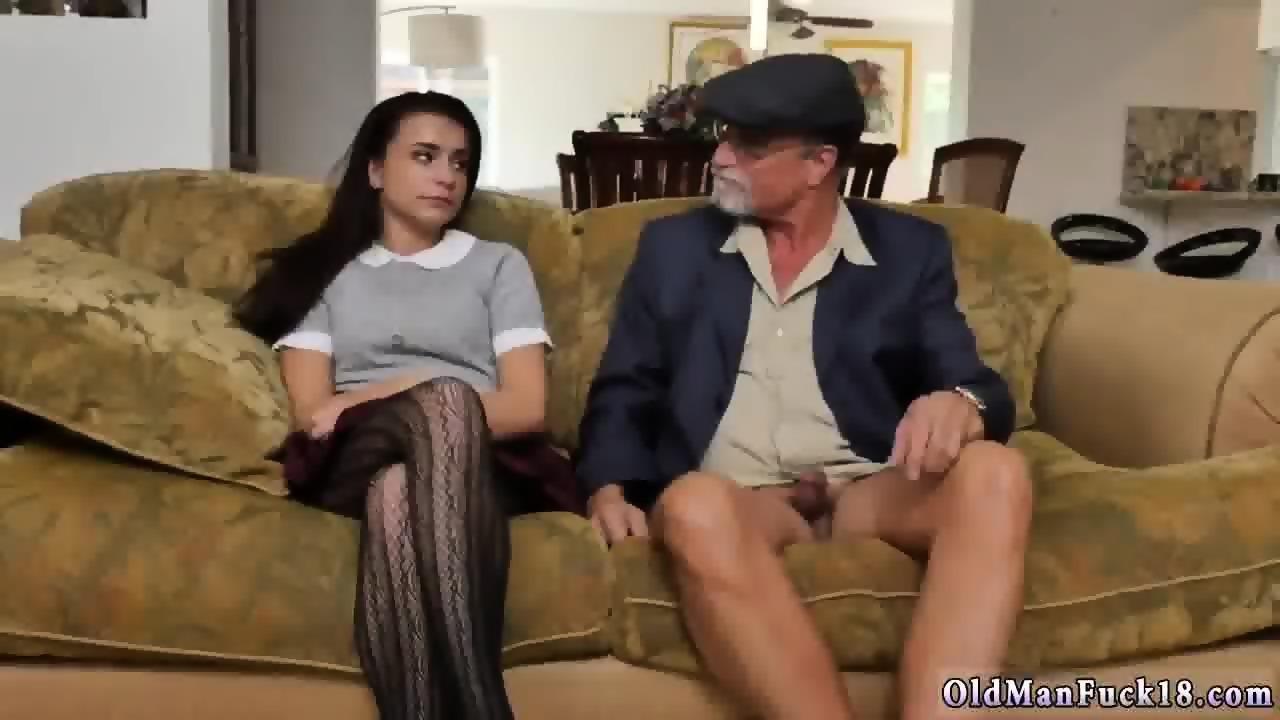 Old Man Licks Teen Asshole
