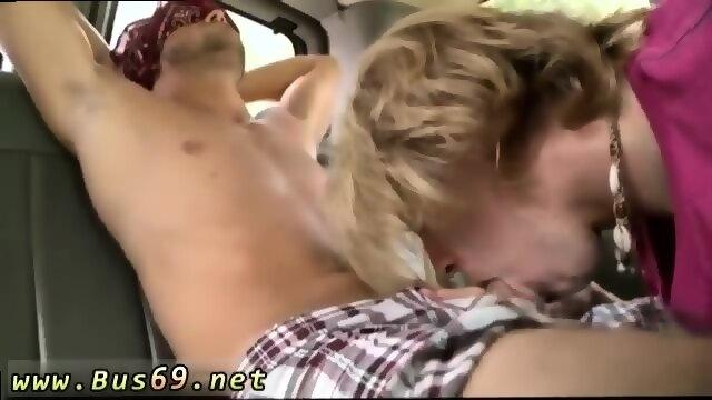 Boy getting blow job