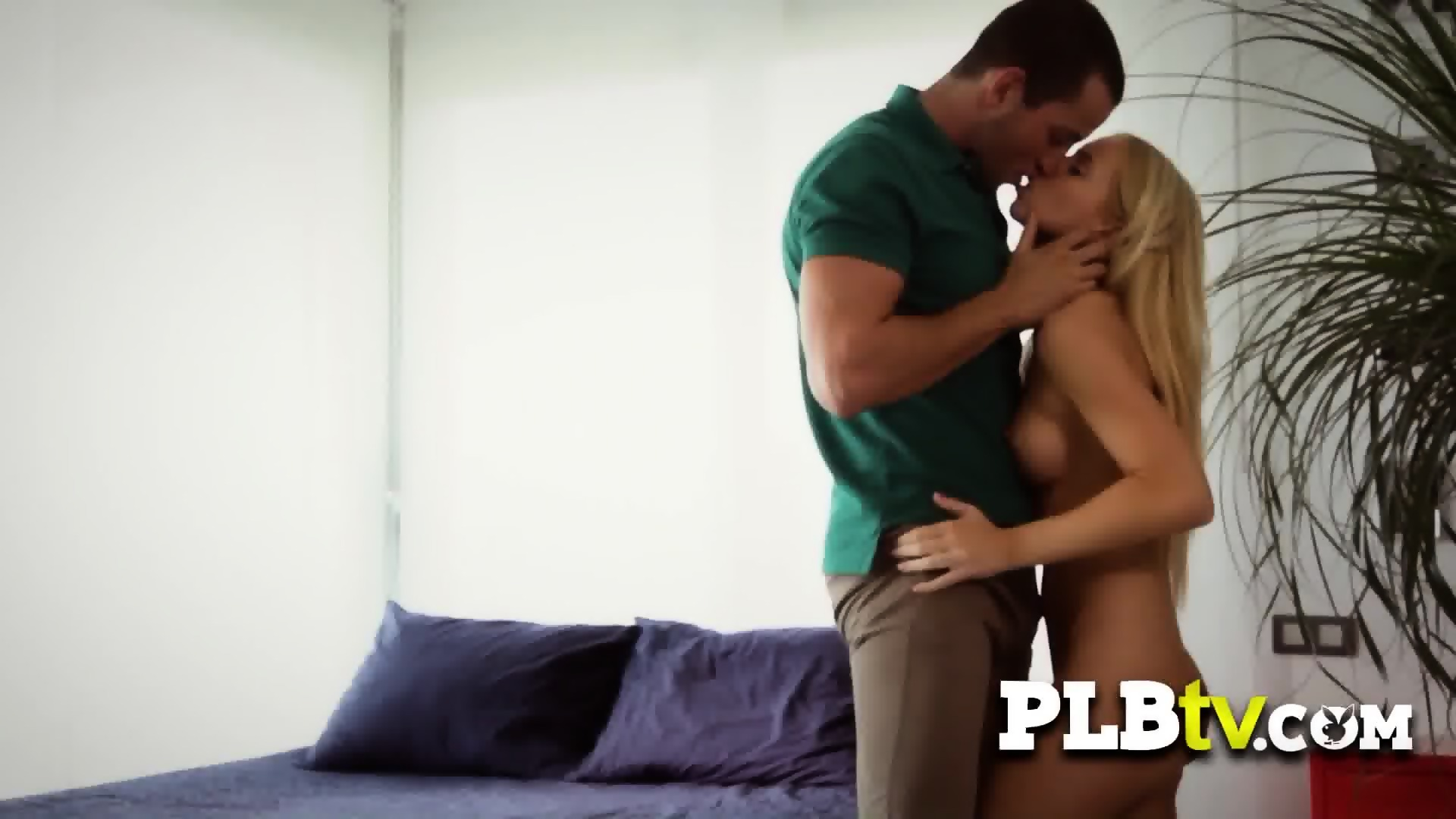 Cute couple engage in hot romantic sex in their bedroom - scene 4