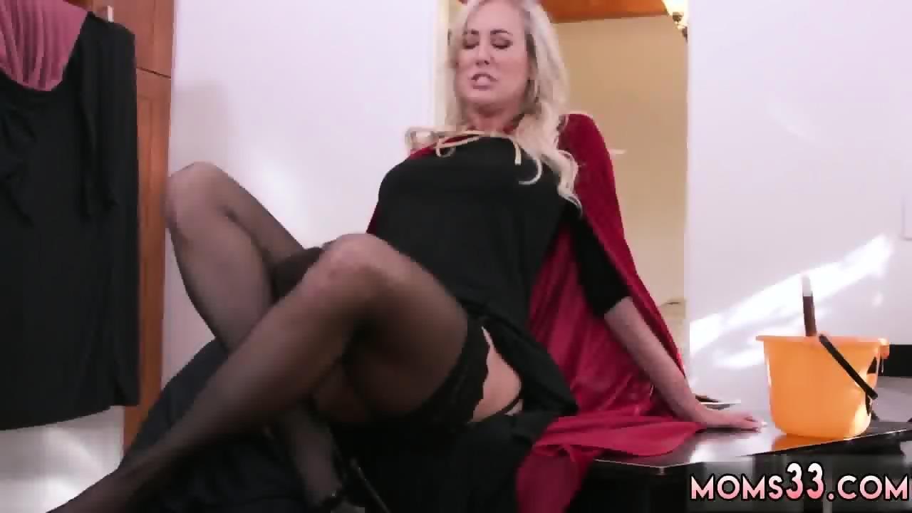 Italian Mature Blonde Anal