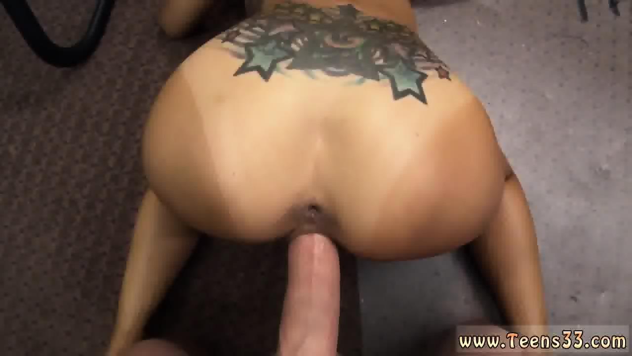 Hairy anal dildo
