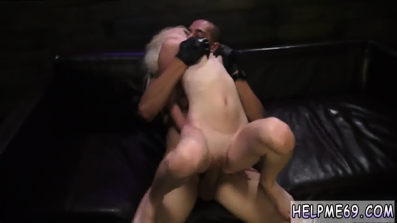 First Time Riding Dildo