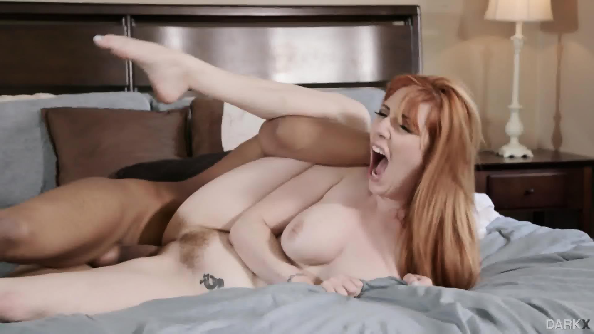 Black Chick Loves White Cock