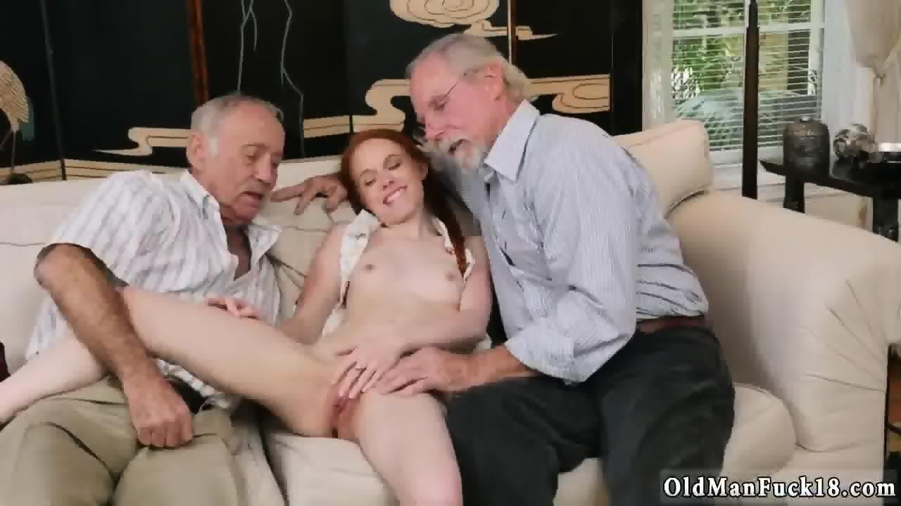 Blonde Girl Suck Old Man