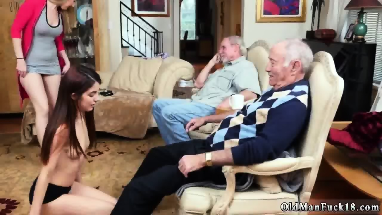 Hot Euro Babe Fucks Old Man