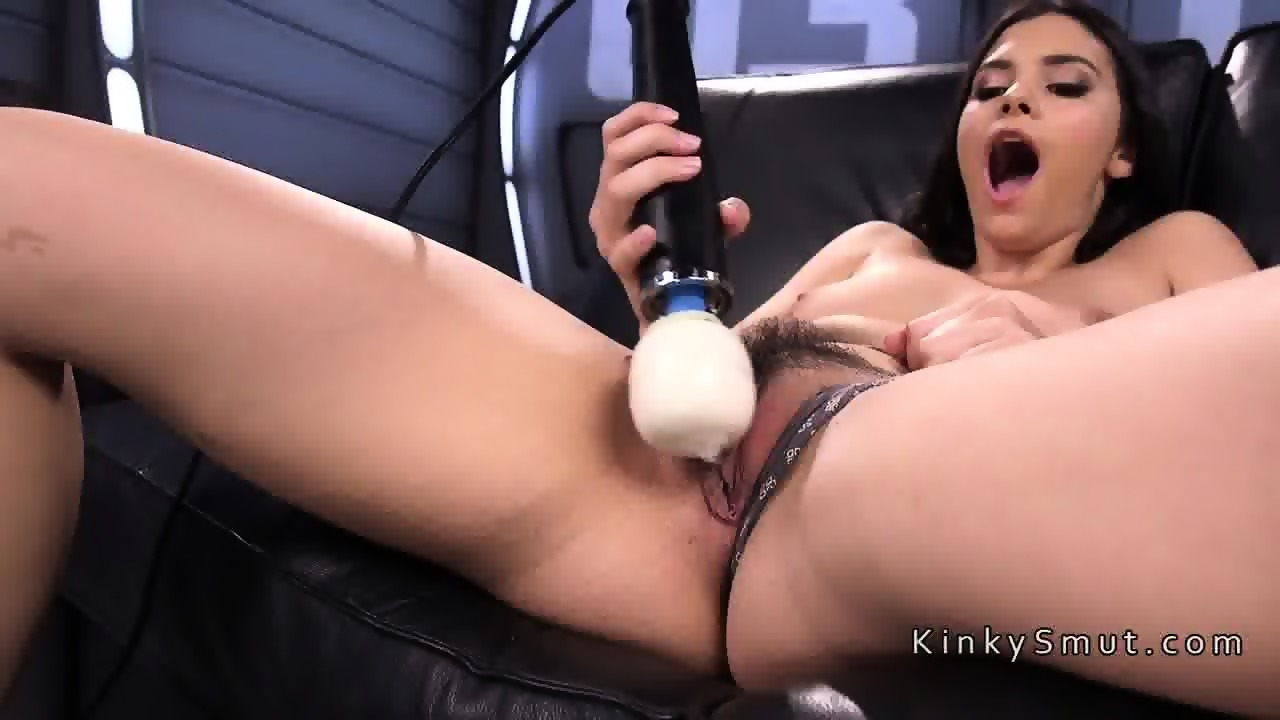 Have Hot latina fucks a machine