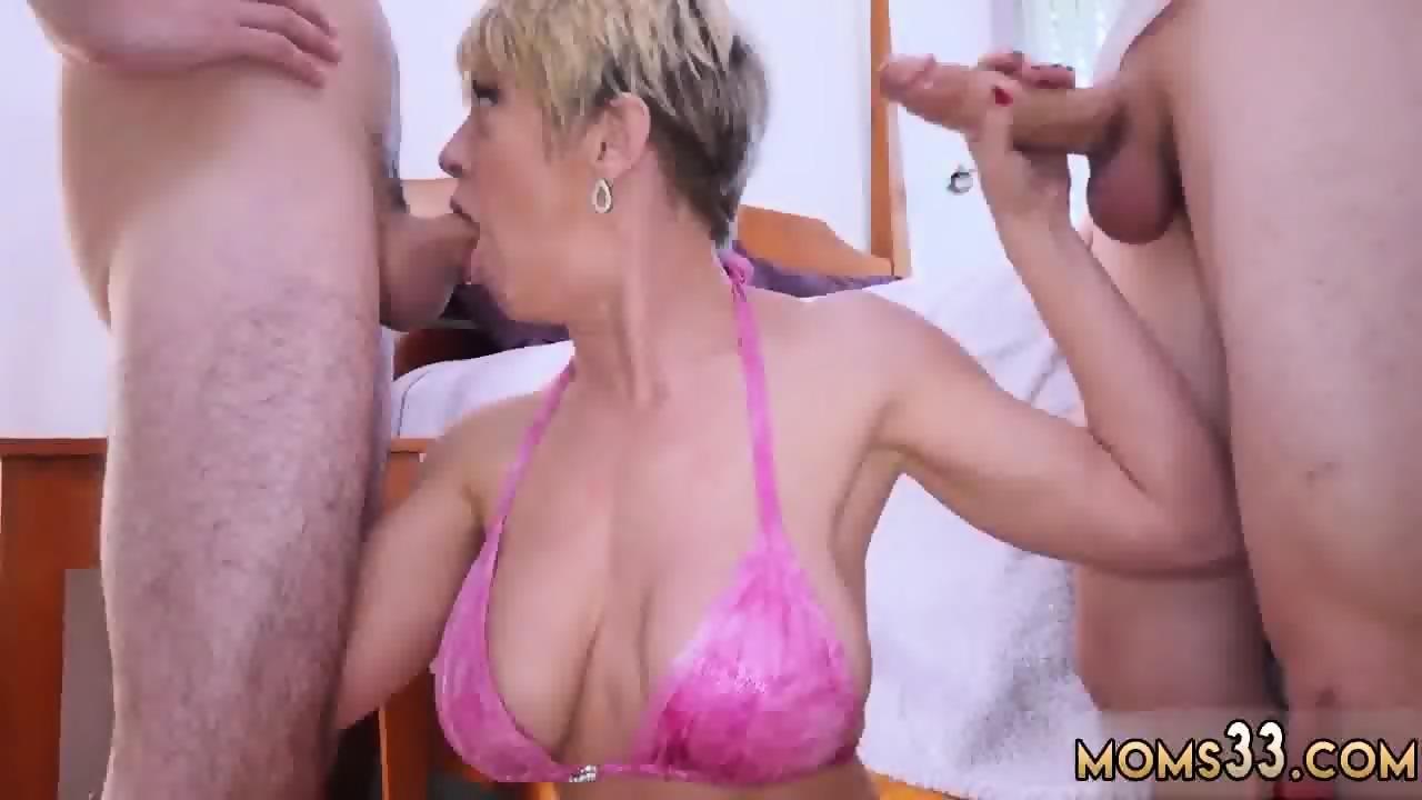 Redhead mom anal