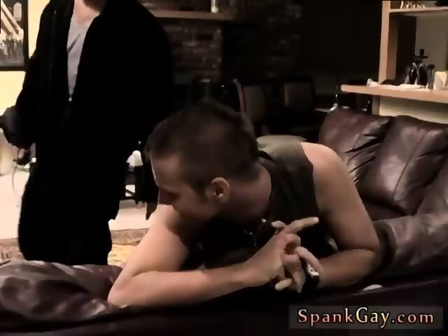 Over my knee young gay man for bare bottom spanking Mark is a indeed molten  youthful