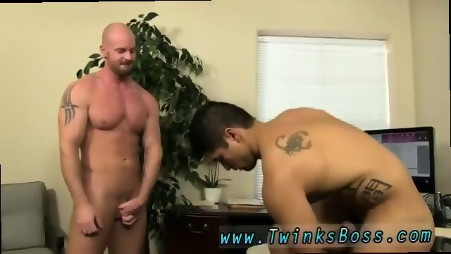 Big dick gay butthole plow with facial