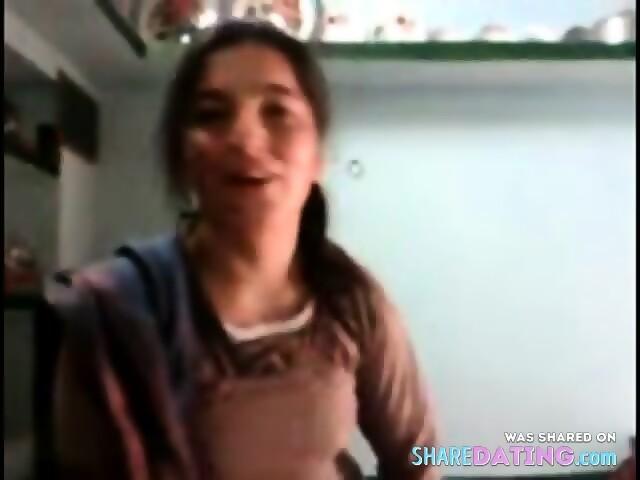 Cute Real Pakistan Pathan Girl Phudi Scene 12