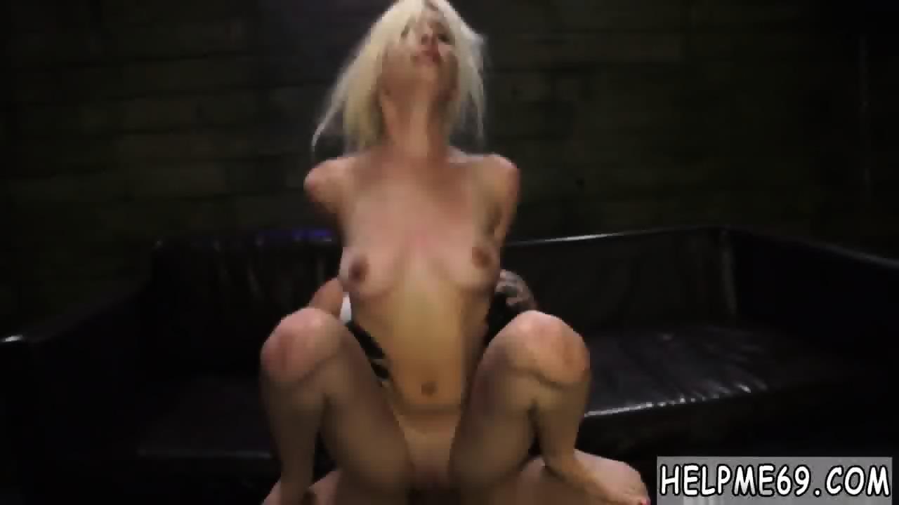 German Blonde Big Tits Anal